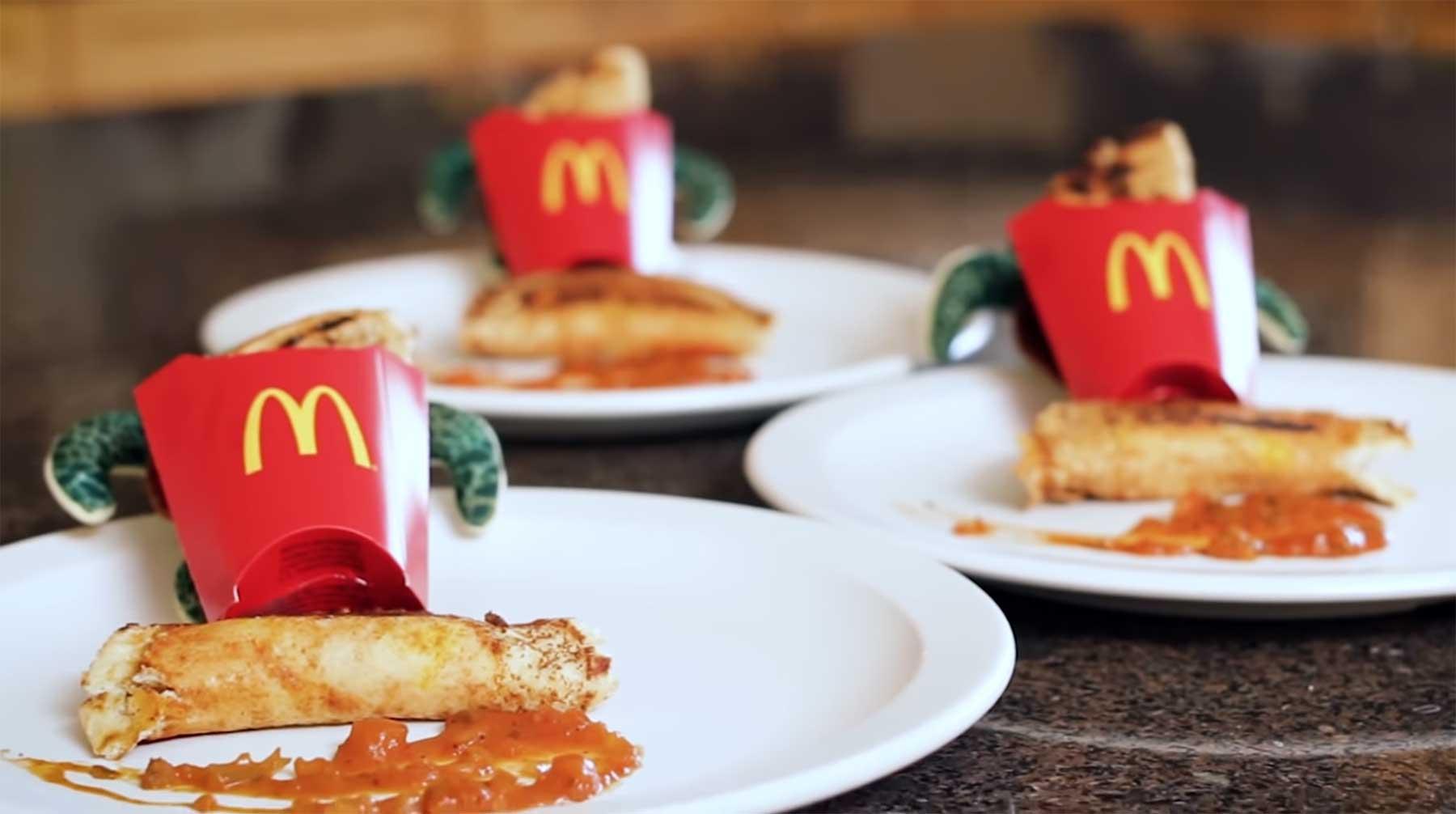 Kann man aus einem Happy Meal ein Gourmet-Essen machen?