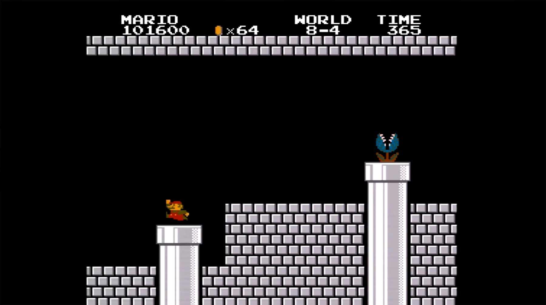 Super Mario Bros.: Niedrigstmögliche Punktezahl und Speedrun-Erläuterung