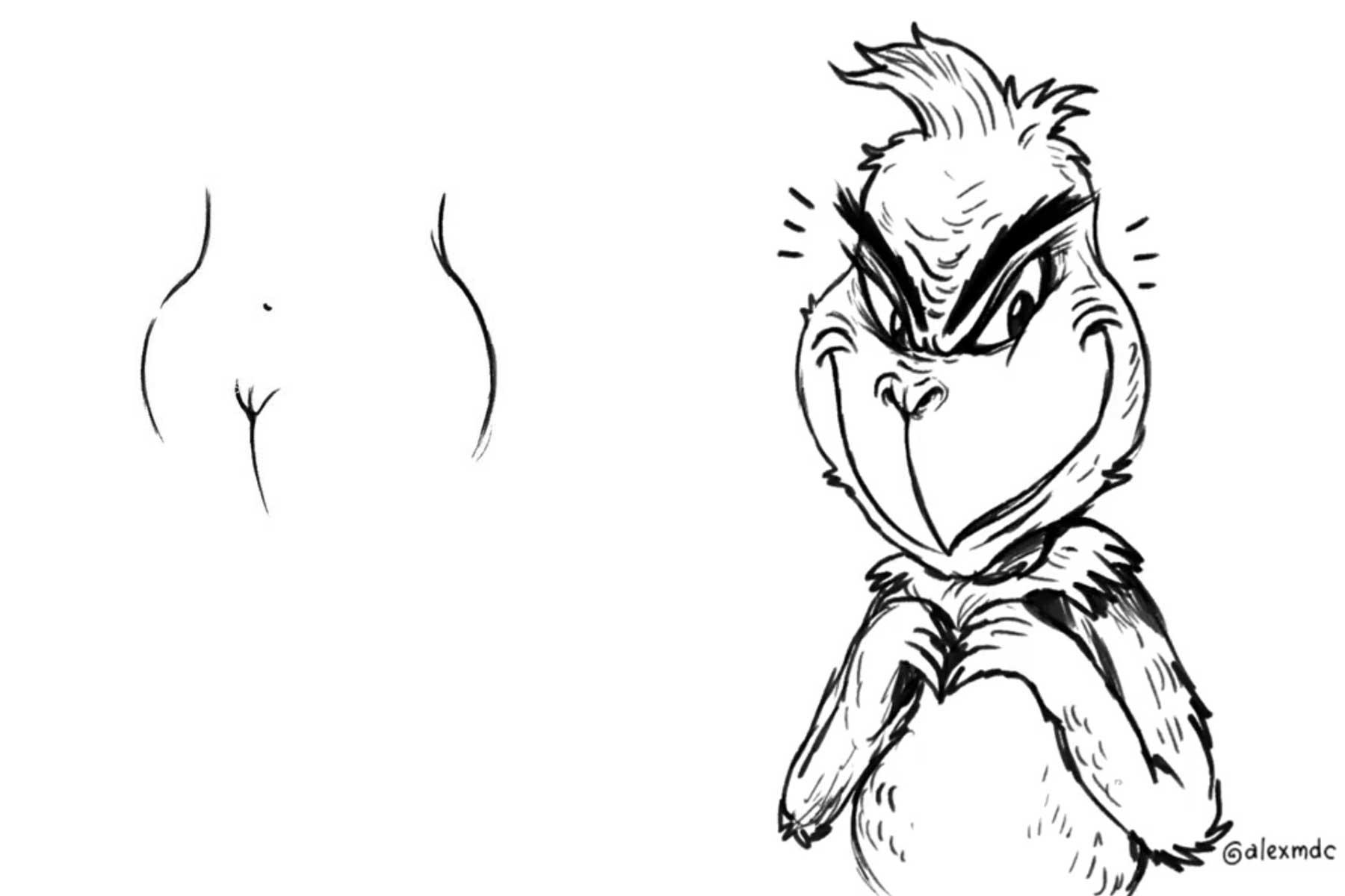 Alex Solis macht Kunst aus Schweinkram Alex-Solis-schweinkram-zeichnungen