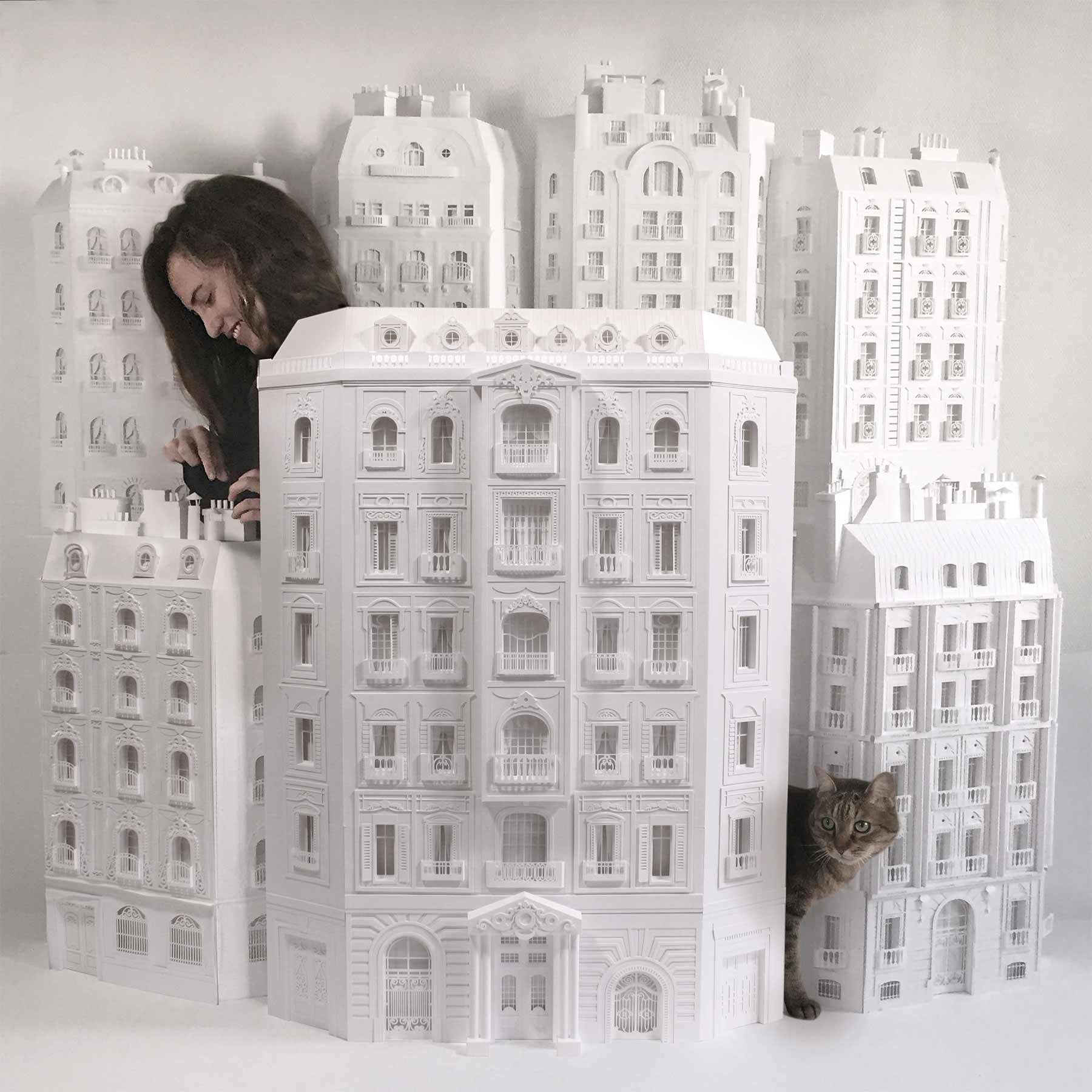 Paris aus Papier