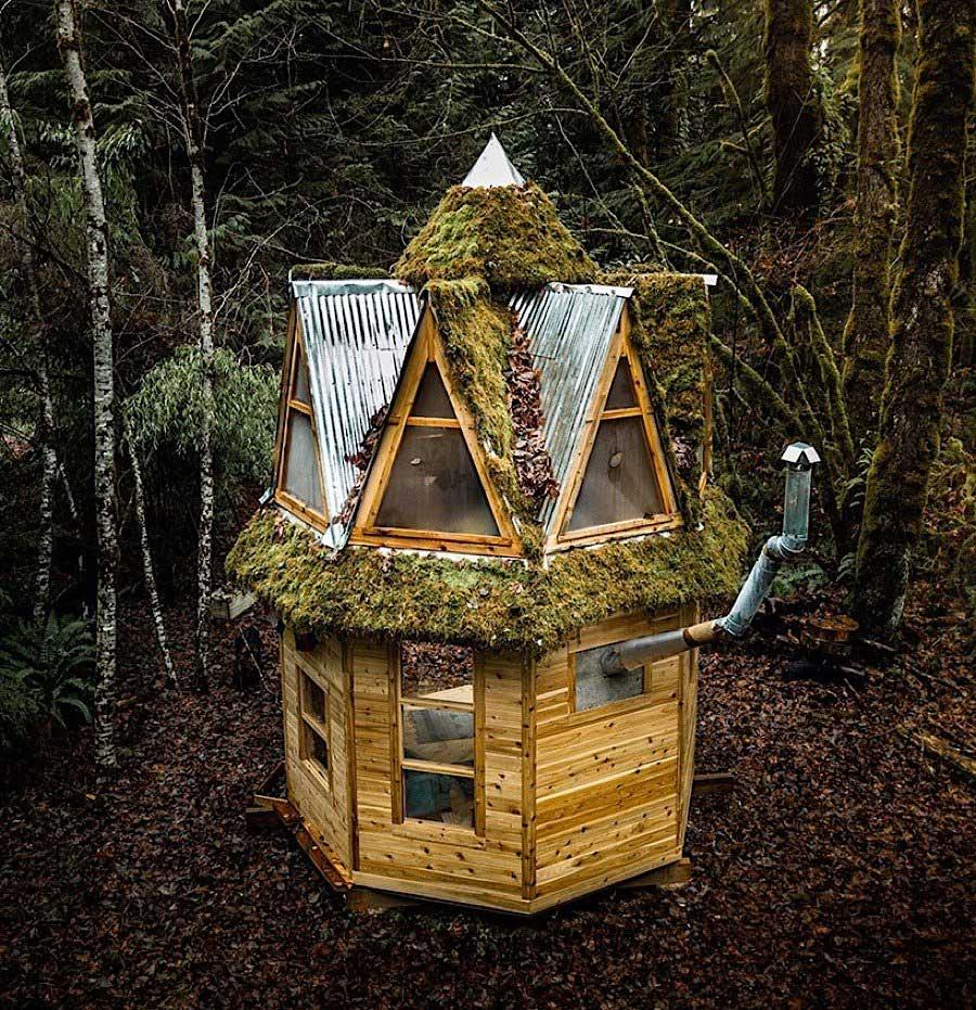 Mini-Holzhütte im Wald Jacob-Witzling-tiny-home_04