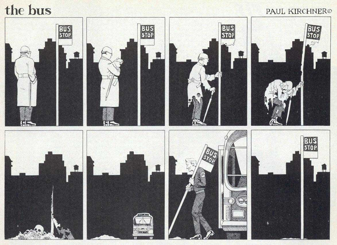 Surreale Comics: The Bus Paul-Kirchner-The-Bus-Comic_05