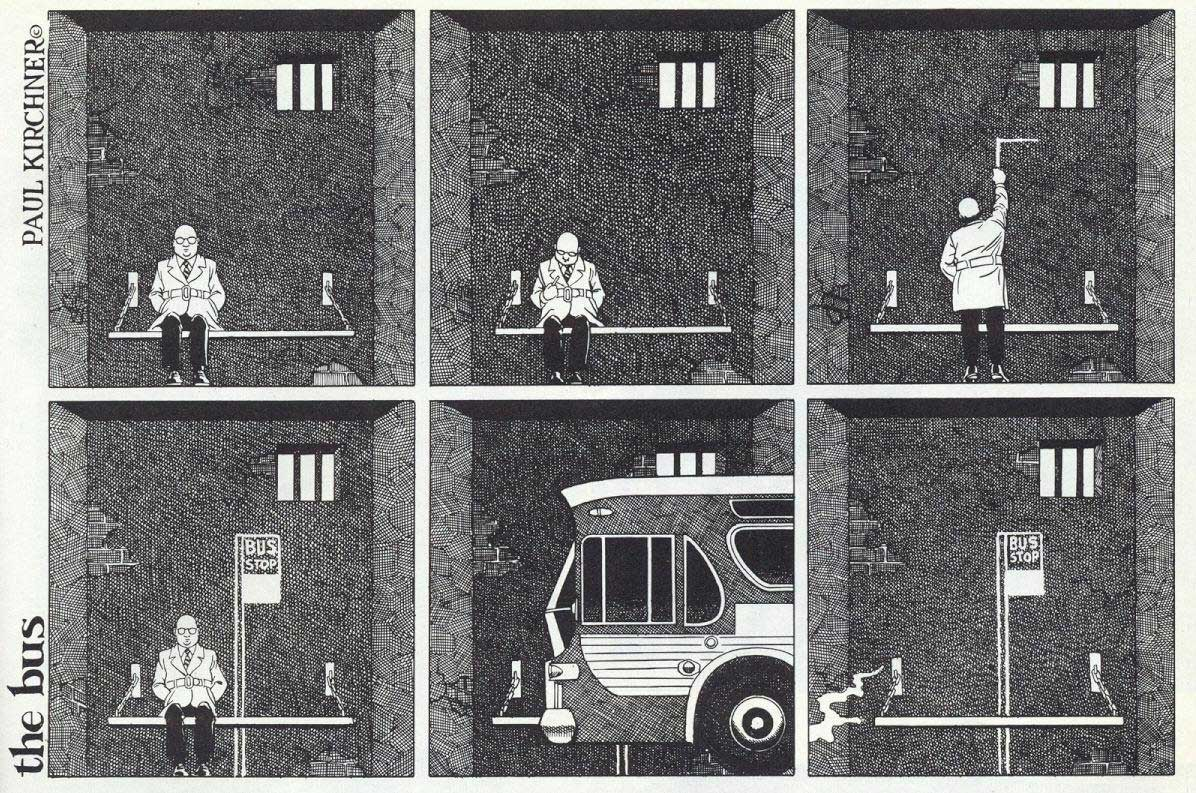 Surreale Comics: The Bus Paul-Kirchner-The-Bus-Comic_06