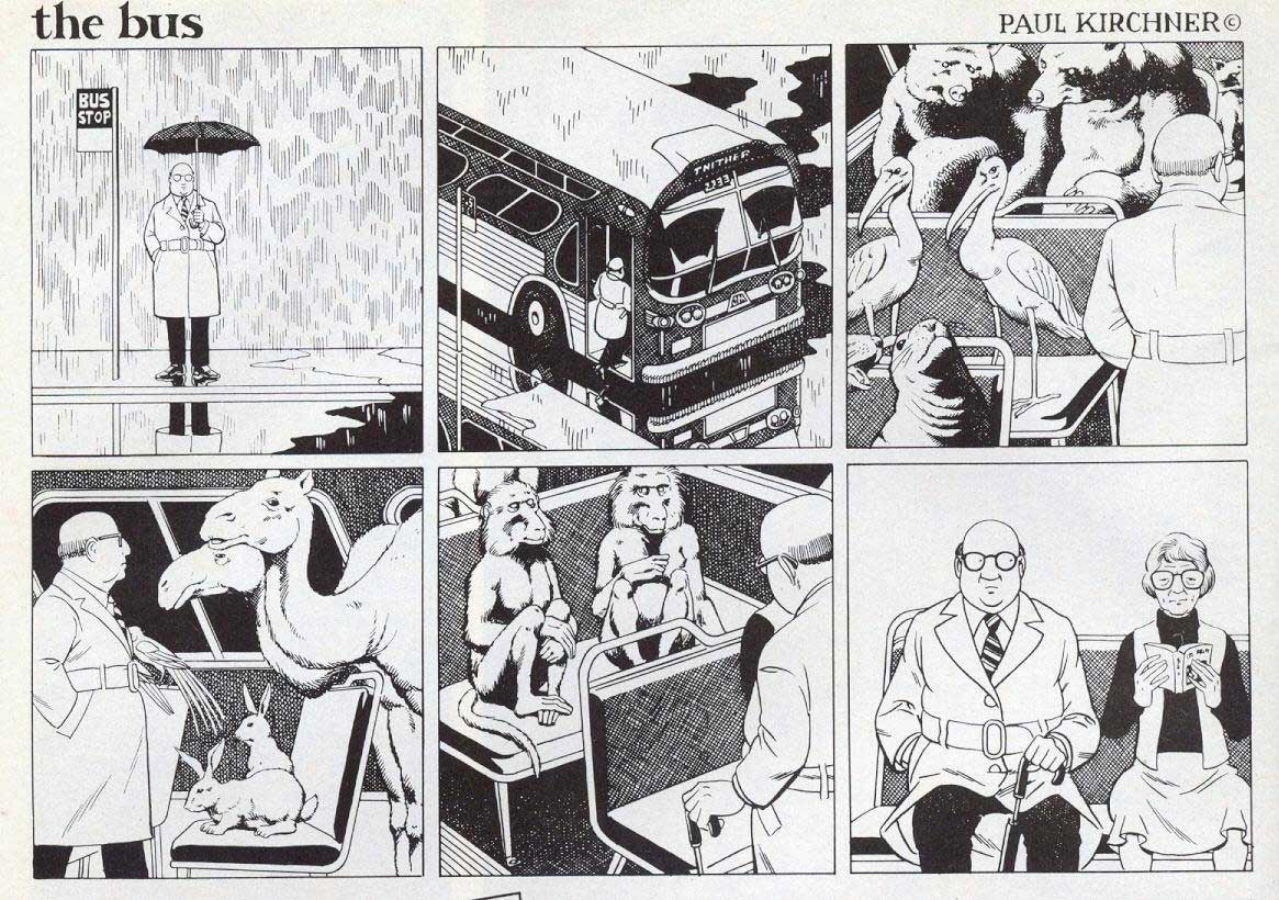 Surreale Comics: The Bus Paul-Kirchner-The-Bus-Comic_07