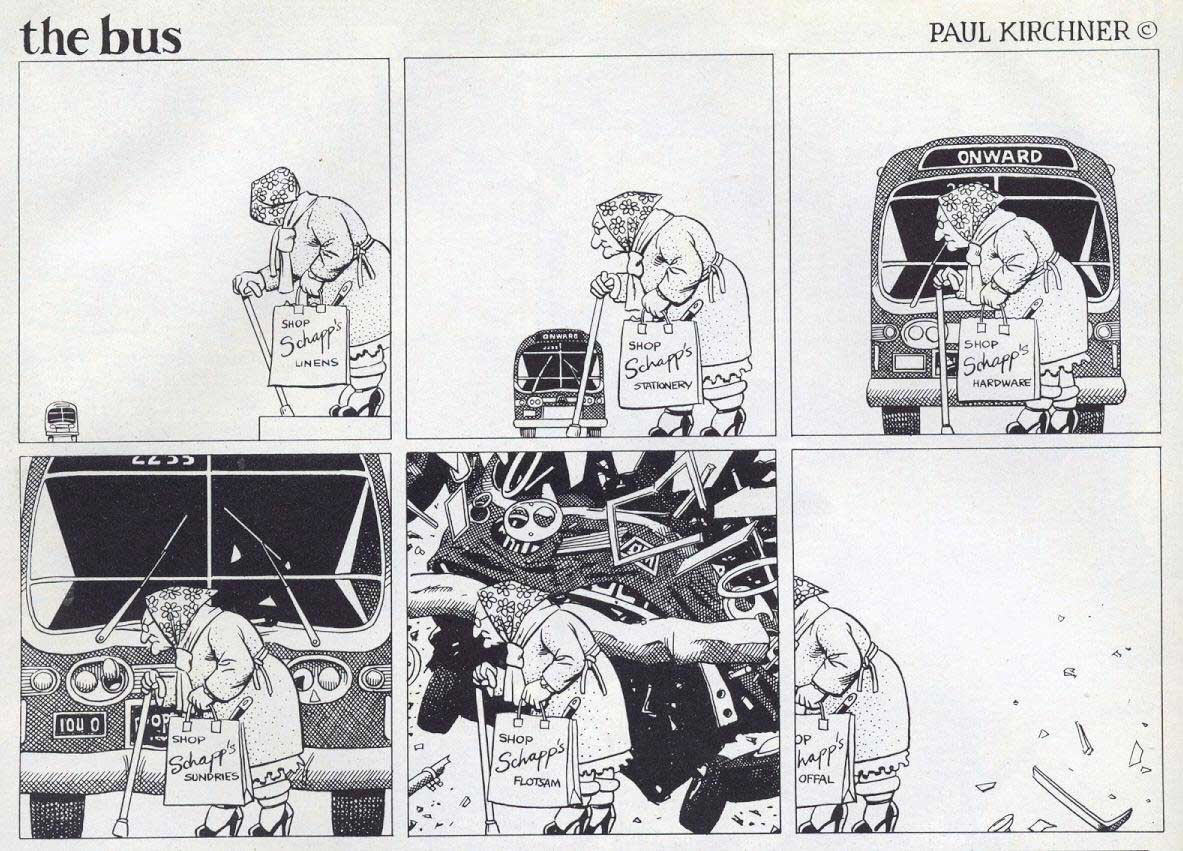 Surreale Comics: The Bus Paul-Kirchner-The-Bus-Comic_08