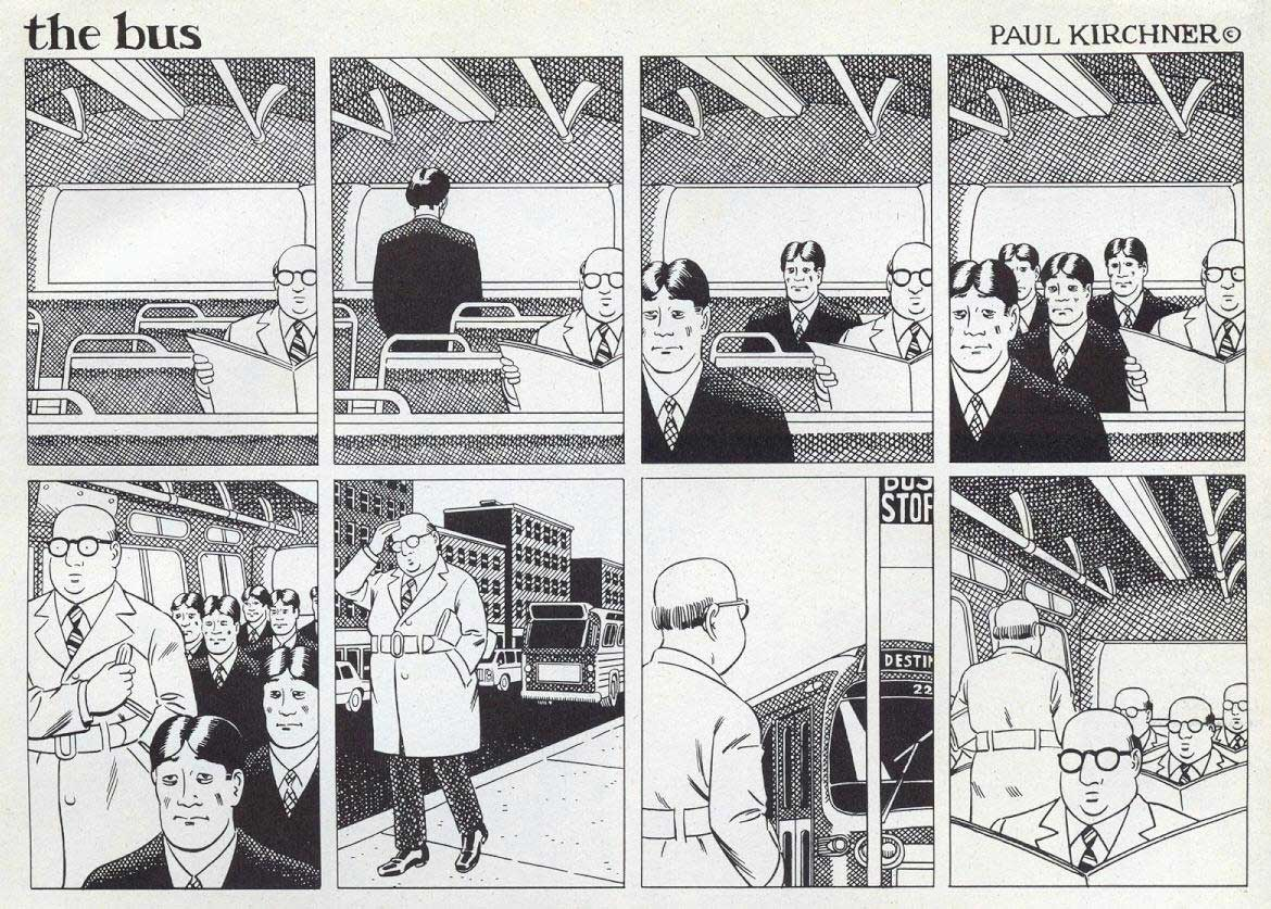 Surreale Comics: The Bus Paul-Kirchner-The-Bus-Comic_09