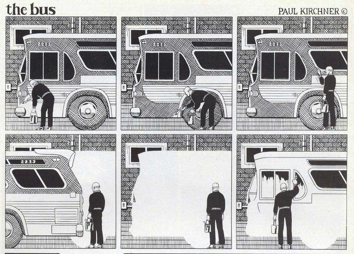 Surreale Comics: The Bus Paul-Kirchner-The-Bus-Comic_11