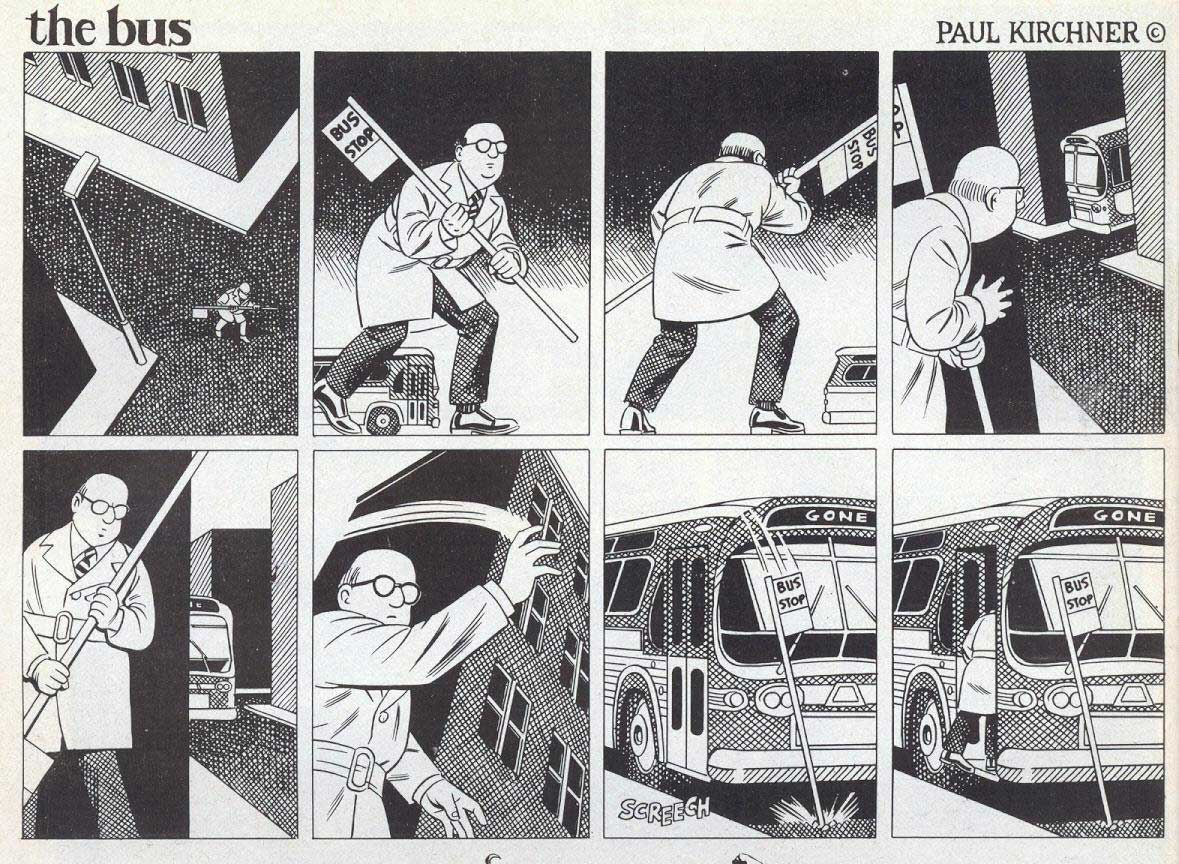 Surreale Comics: The Bus Paul-Kirchner-The-Bus-Comic_12