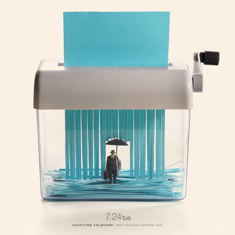 "Neues aus dem ""Miniature Calendar"" von Tatsuya Tanaka"
