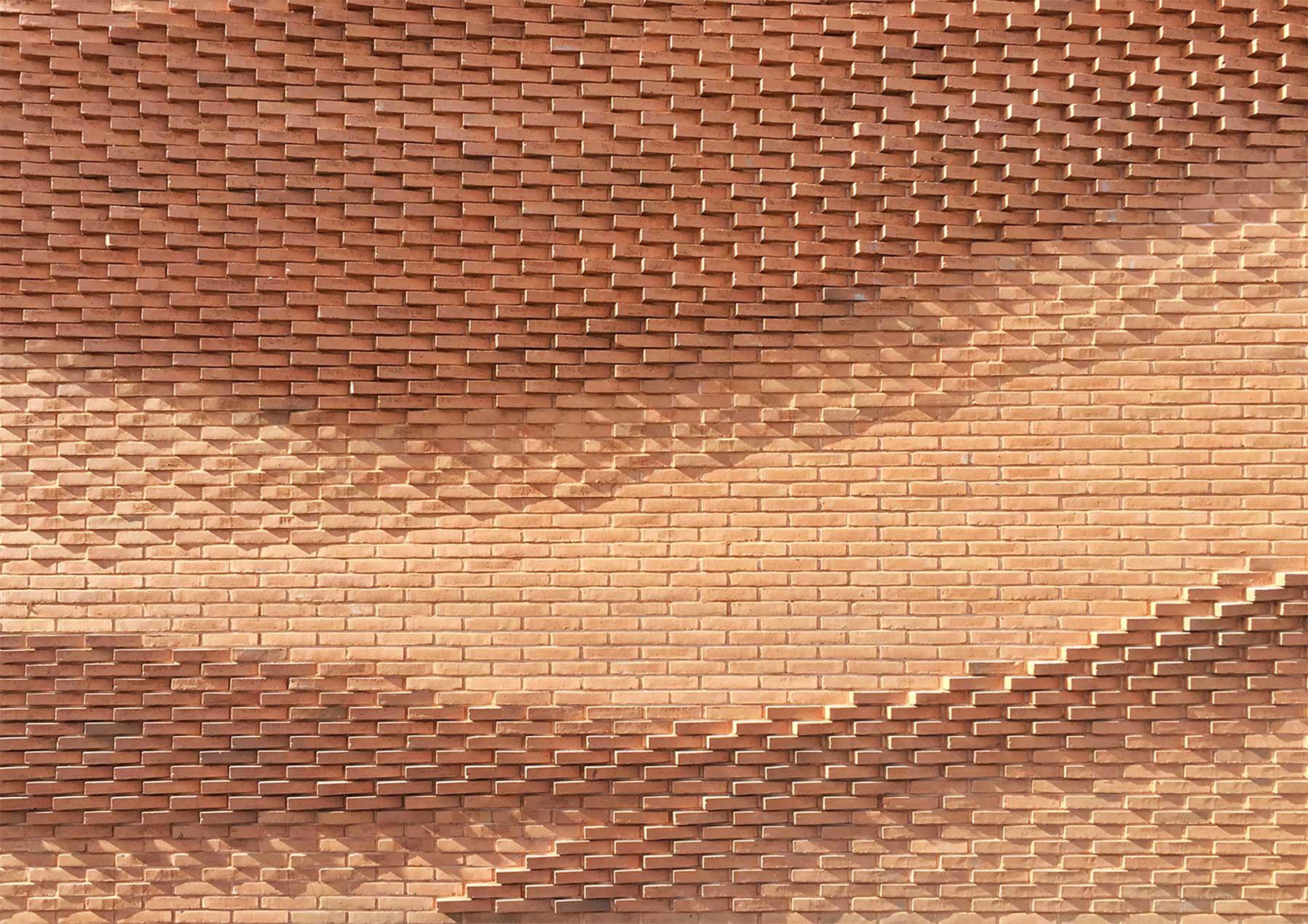 Diese Mauer macht eine La-Ola-Welle