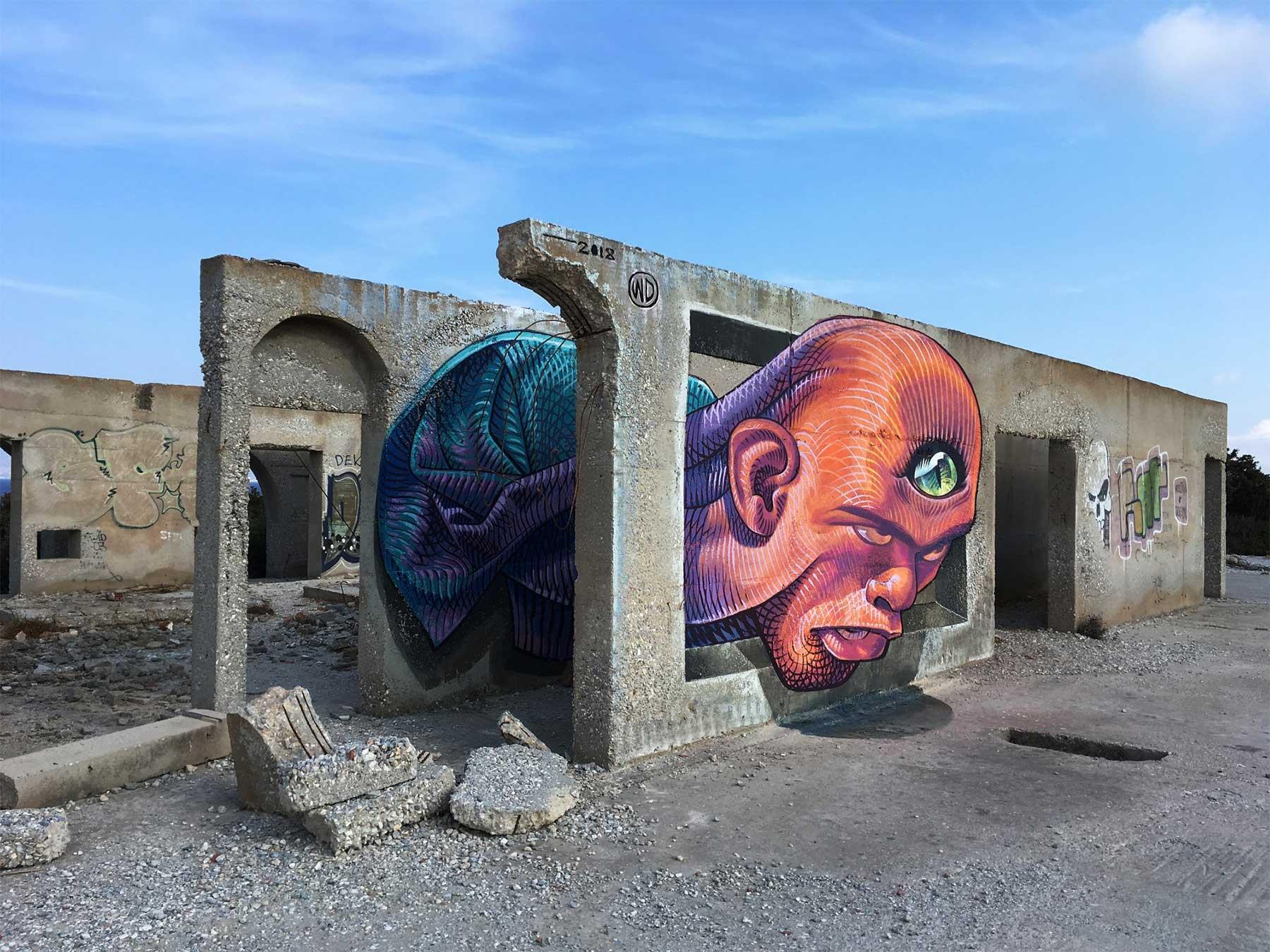 Street Art: WD