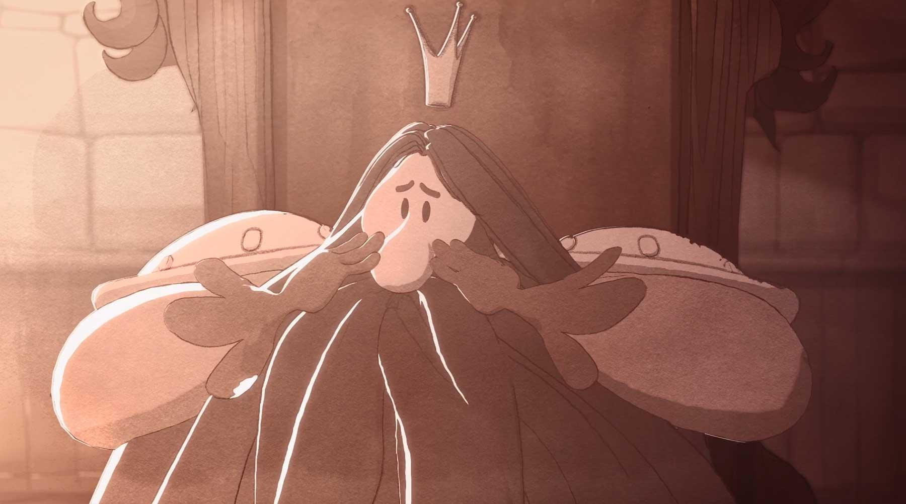 Kahlgeburt im Königreich der Vielbehaarten animierter-kurzfilm-kaal