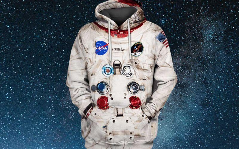 Astronauten-Hoodie