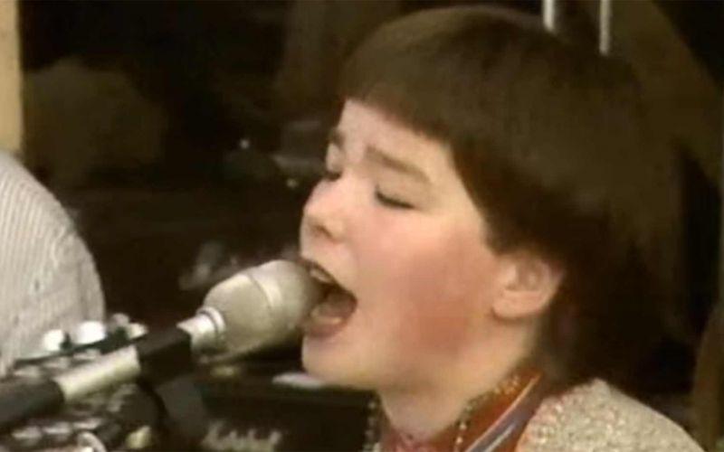 Björk als Teenager-Punk