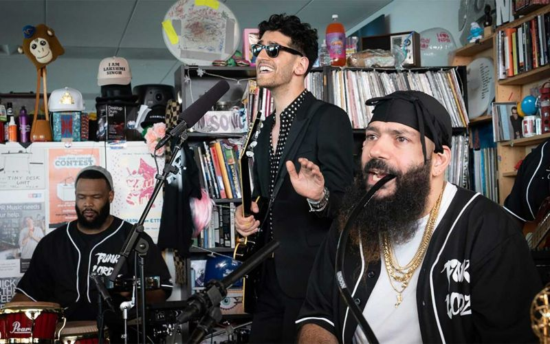 Chromeo im Tiny Desk Concert