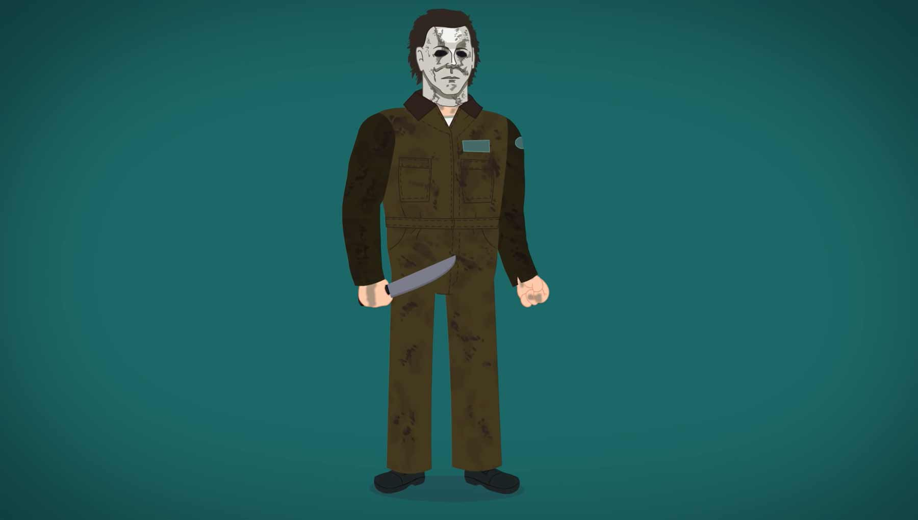 Animierte Evolution von Michael Myers