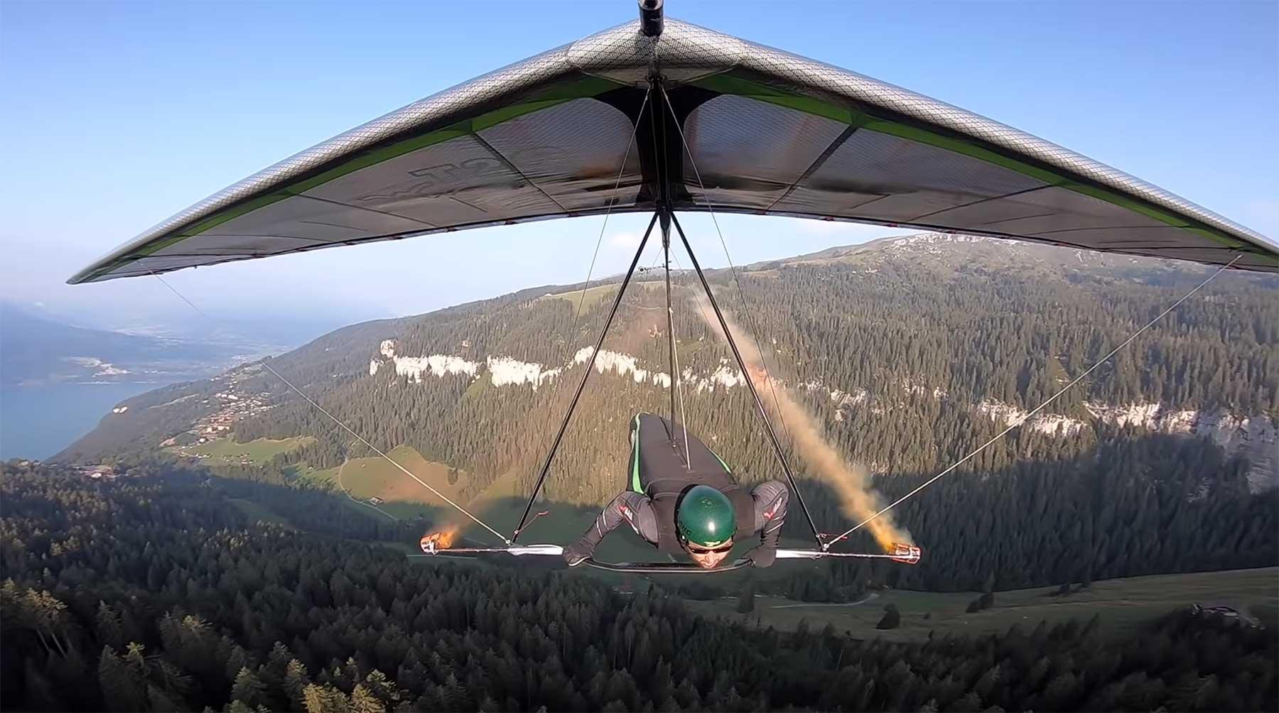 Mit Wolfgang Siess über die Schweiz fliegen