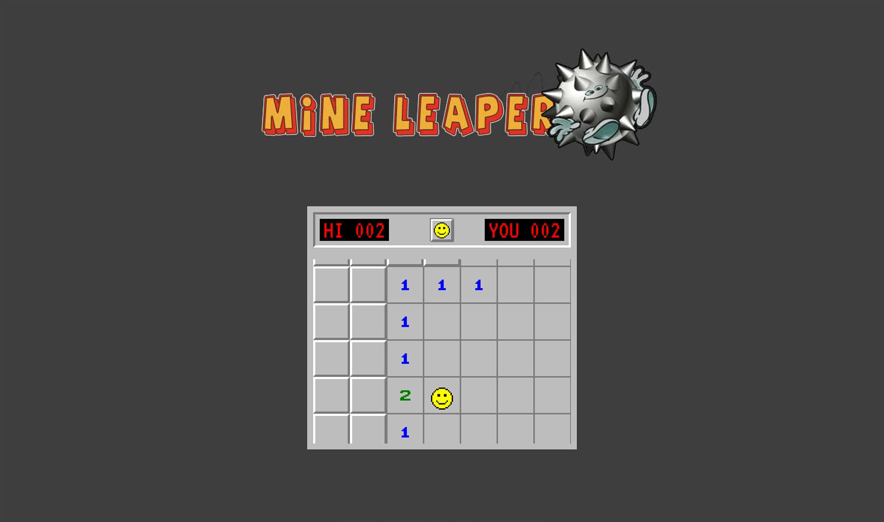 Minesweeper trifft Superball mine-leaper