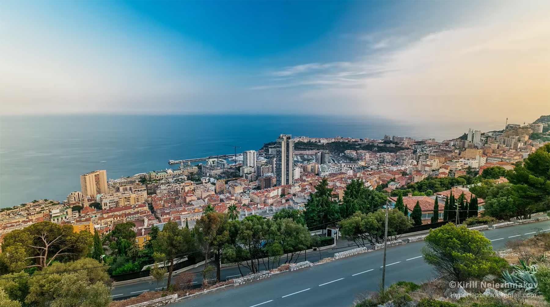 Hyperlapse-Stadtportrait: Monaco monaco-hyperlapse