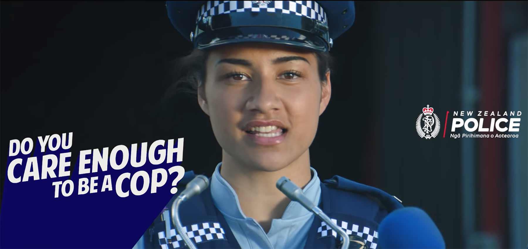 So lustig sucht die neuseeländische Polizei nach neuen Rekruten