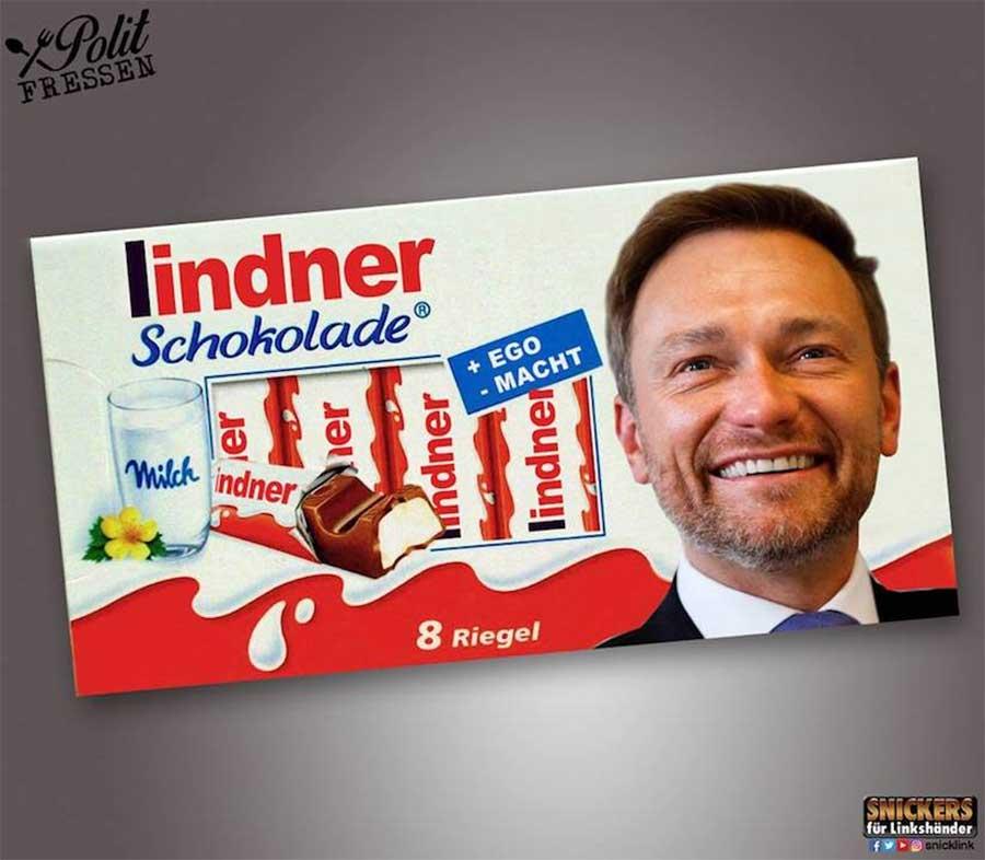 """""""Polit-Fressen"""": Snacks mit Politiker-Geschmack"""