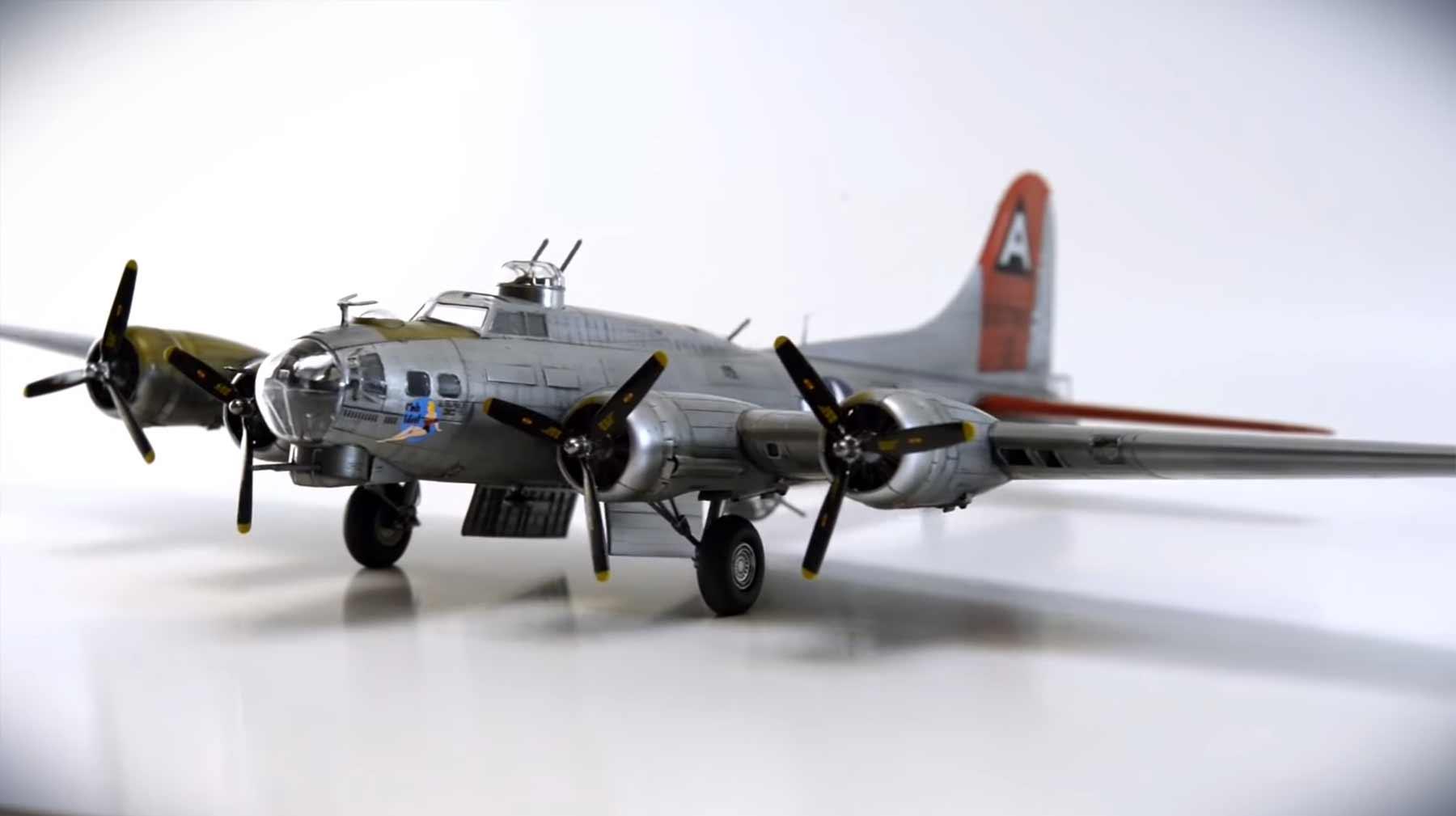 Stopmotion-Modellflugzeugbau
