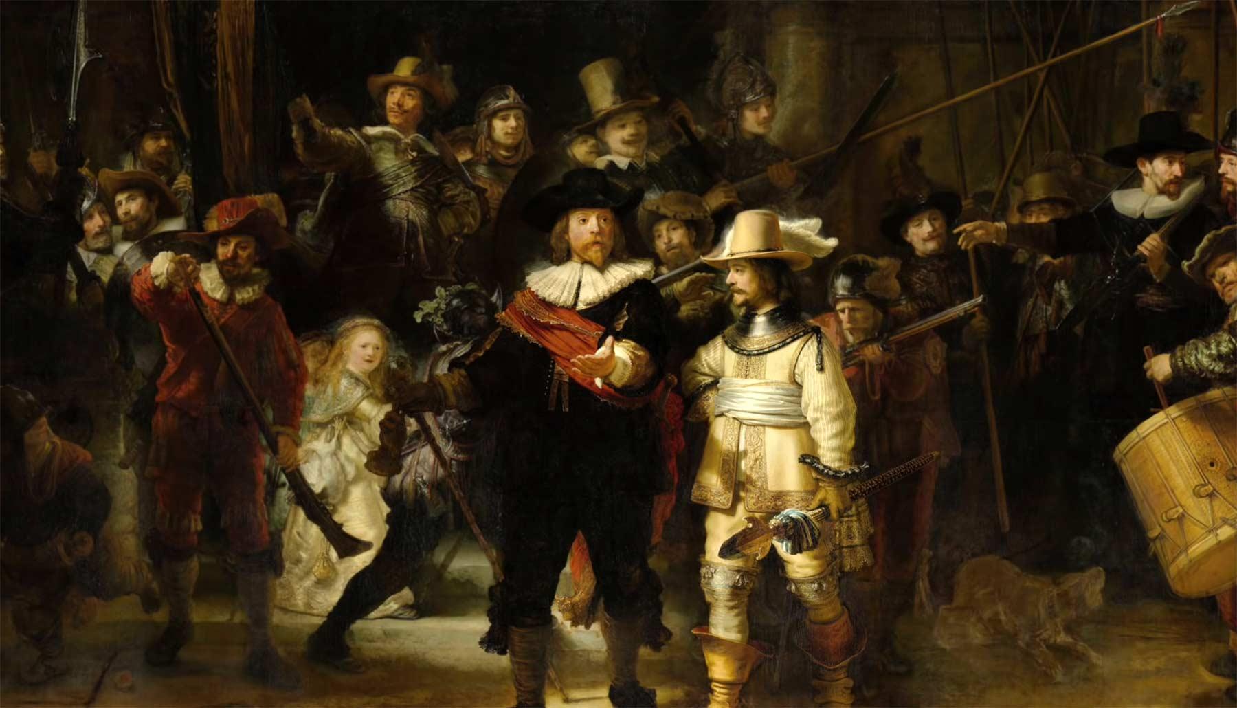 """Weshalb Rembrandts """"Nachtwache"""" ein Meisterwerk ist rembrandts-nachtwache-analyse"""