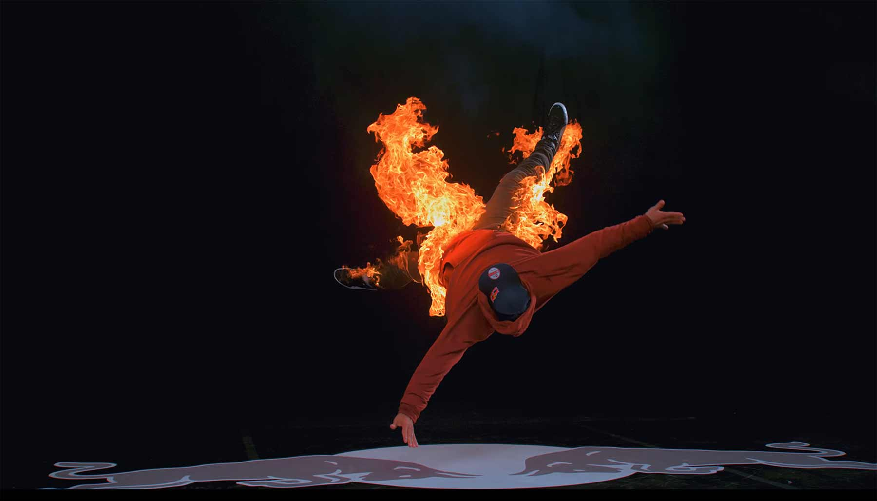 Breakdance-Battle: Water vs. Fire