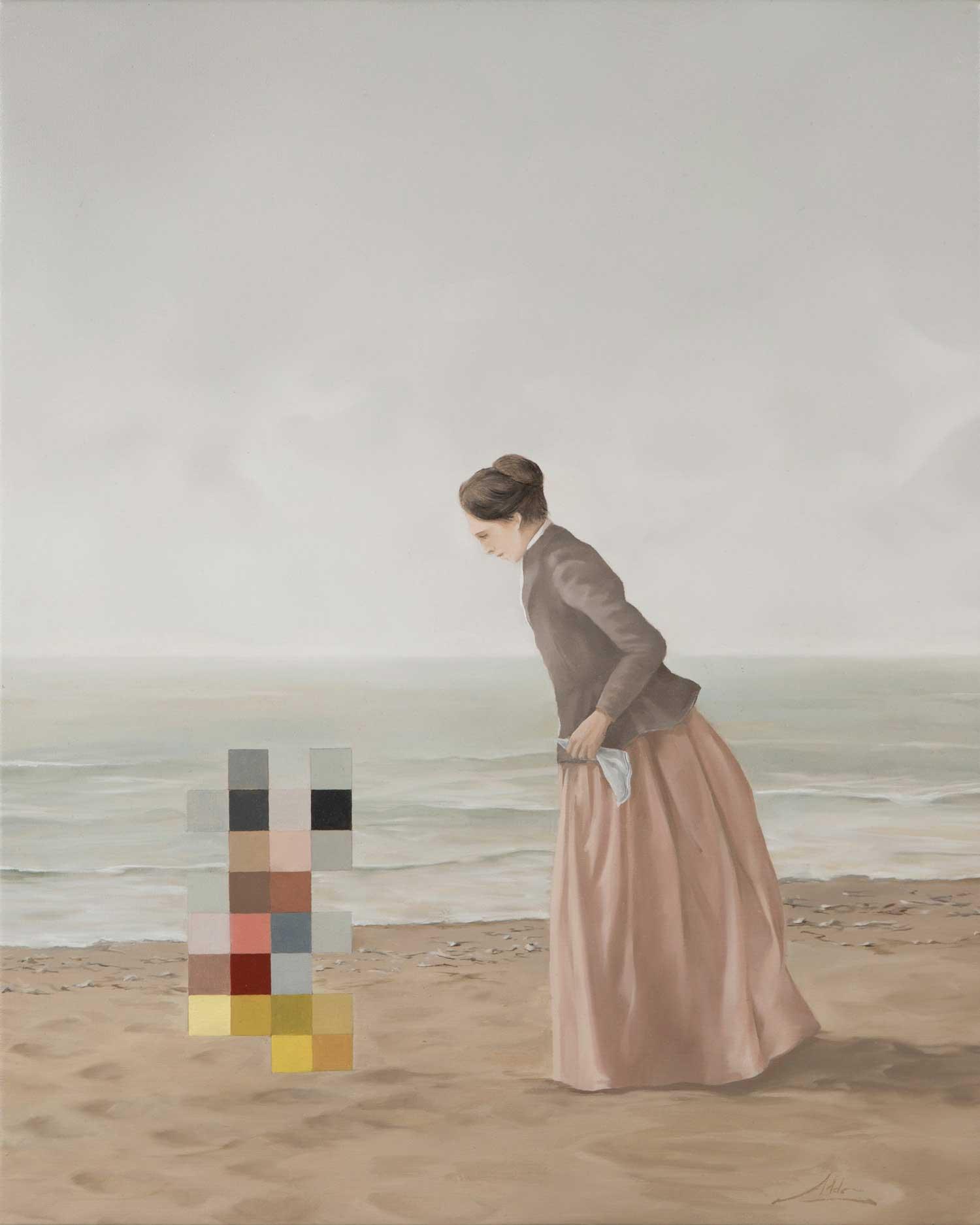 Klassisch anmutende Gemälde mit Verpixelungen Aldo-Sergio_04
