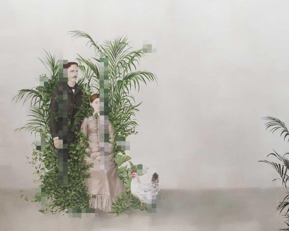 Klassisch anmutende Gemälde mit Verpixelungen Aldo-Sergio_06