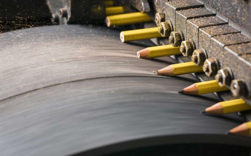 Zu Besuch in einer Bleistiftfabrik
