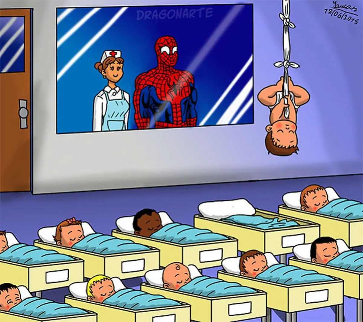 Wenn Superhelden Babies hätten Dragonarte-superheroe-babies_01