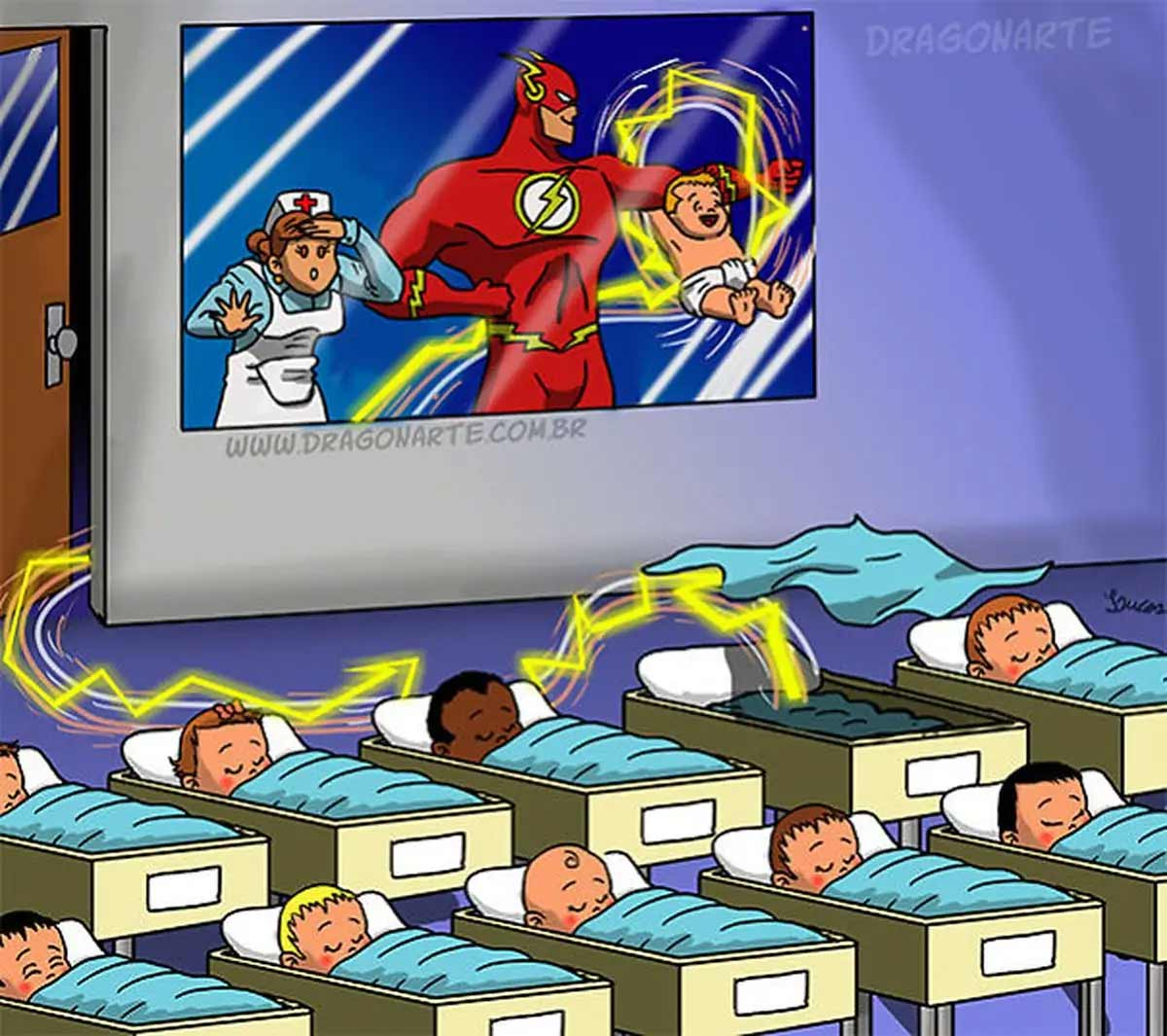 Wenn Superhelden Babies hätten Dragonarte-superheroe-babies_06