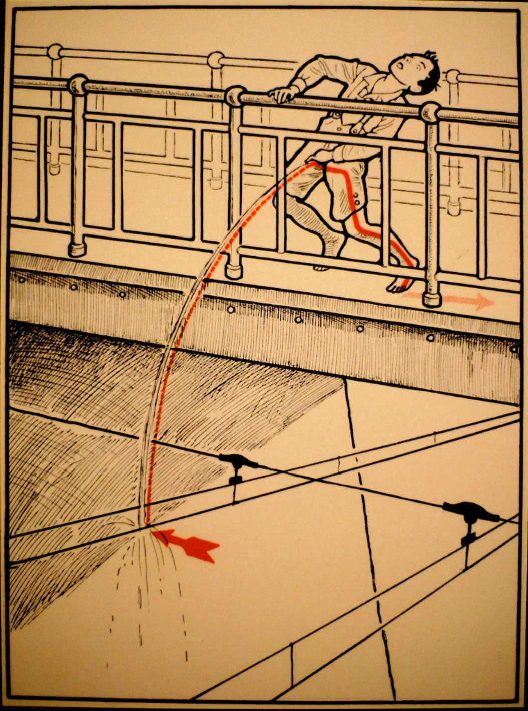 1931 wurde vor skurrilen Arten eines Stromschlages gewarnt