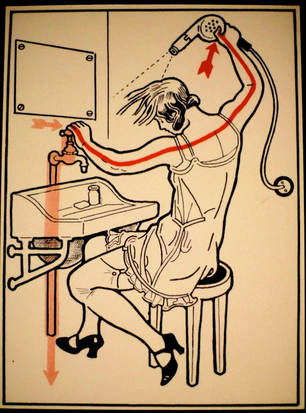 1931 wurde vor skurrilen Arten eines Stromschlages gewarnt Elektroschutz-in-132-Bildern_02