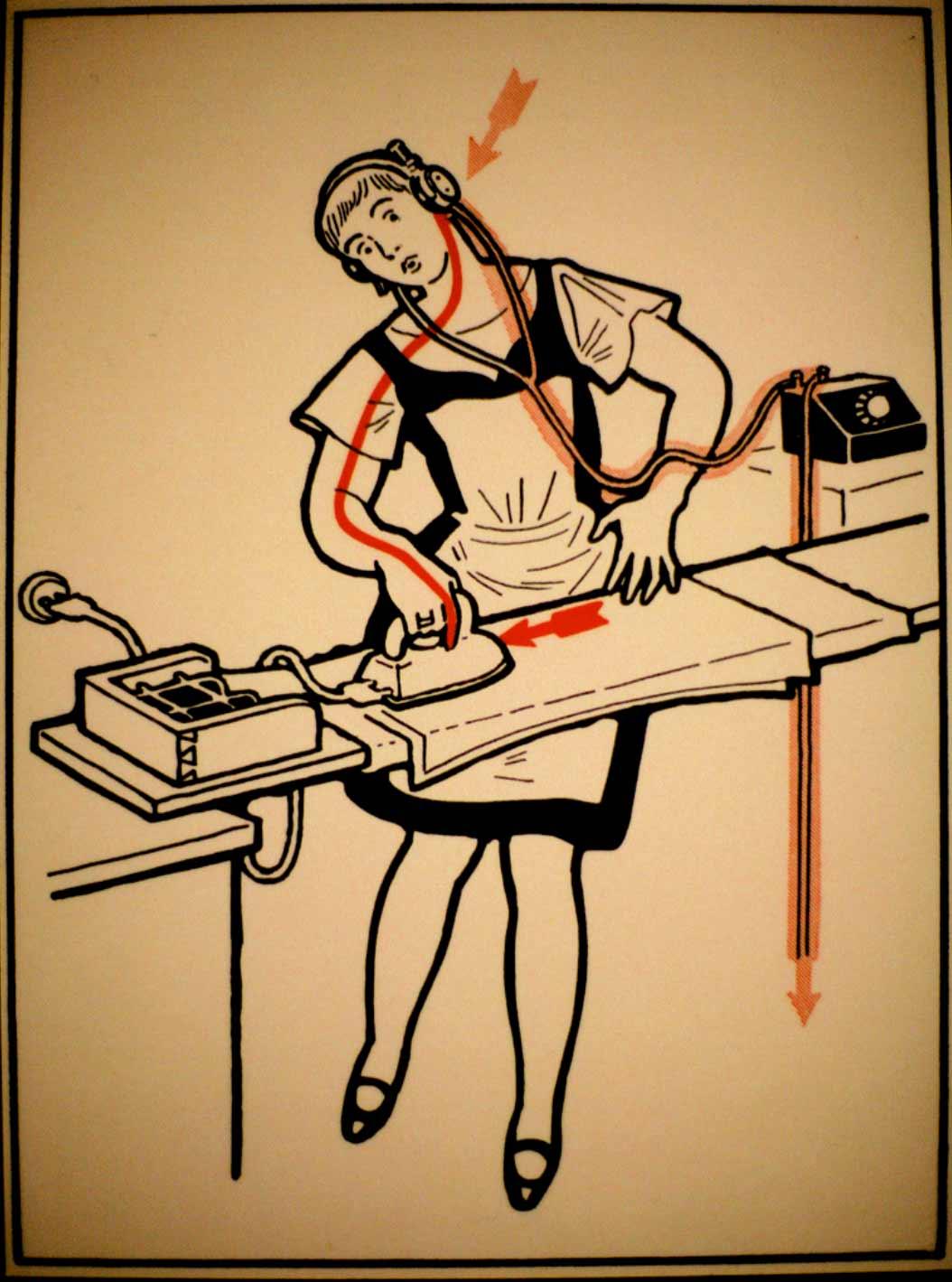 1931 wurde vor skurrilen Arten eines Stromschlages gewarnt Elektroschutz-in-132-Bildern_04