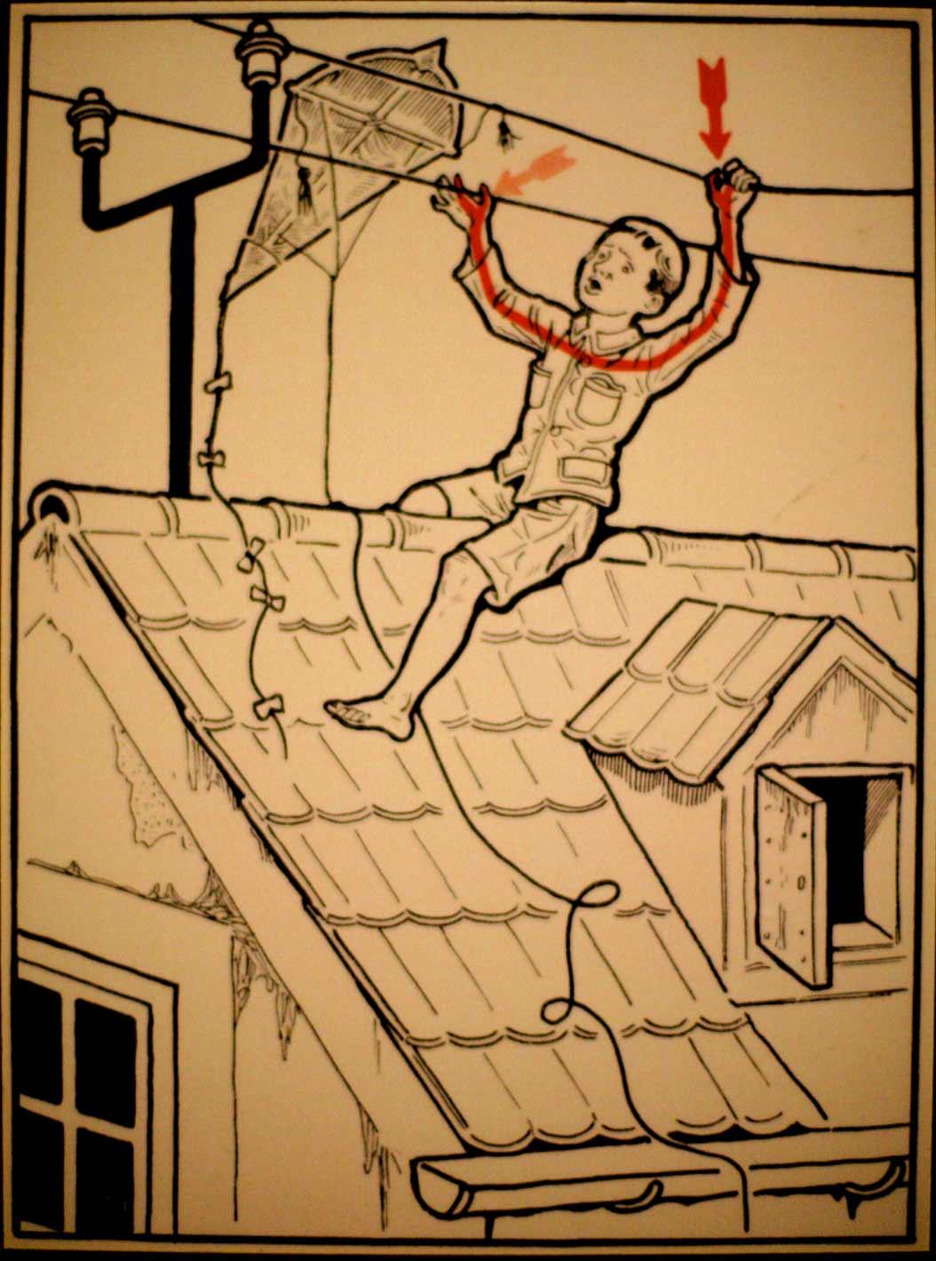 1931 wurde vor skurrilen Arten eines Stromschlages gewarnt Elektroschutz-in-132-Bildern_05
