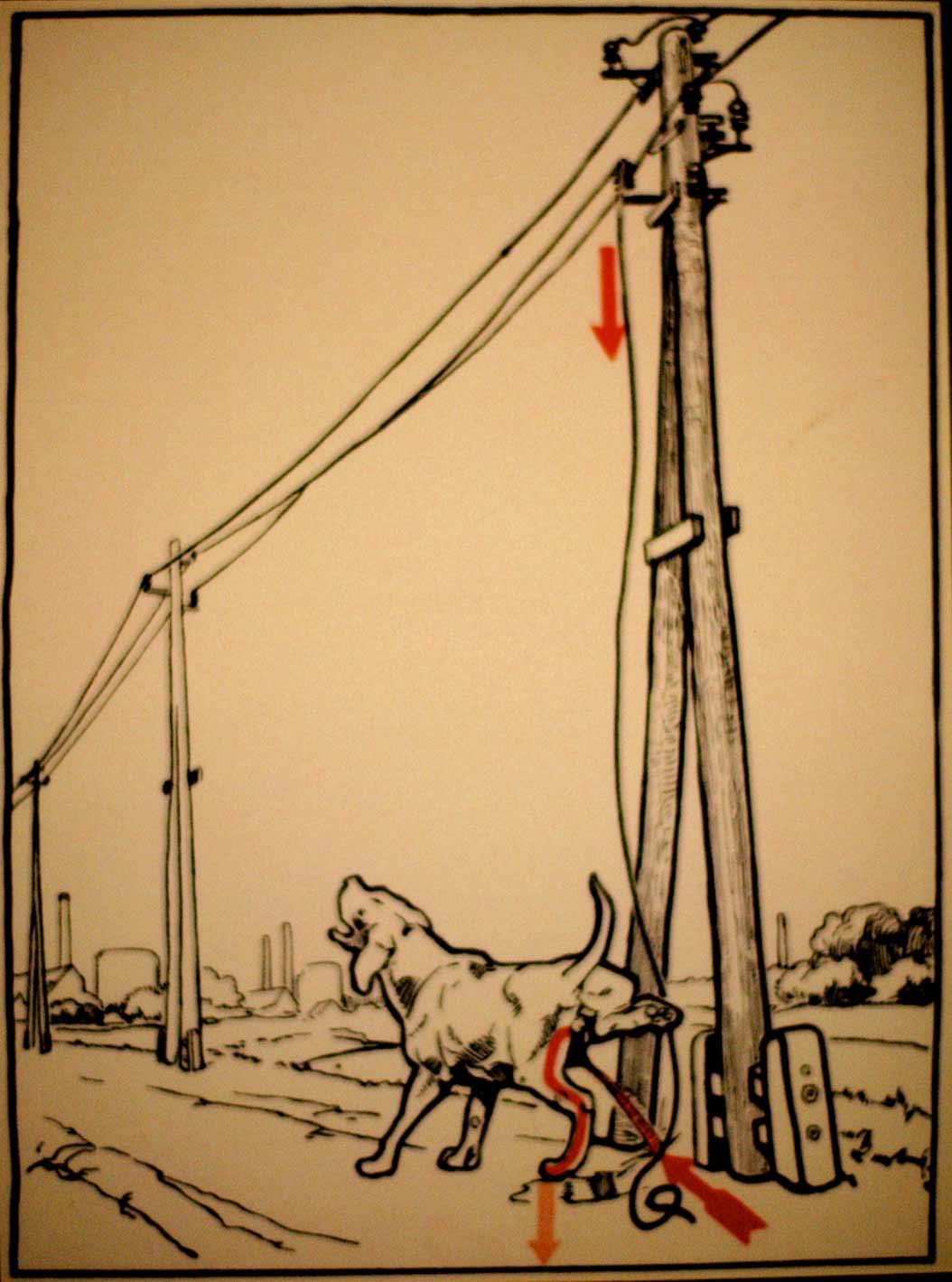 1931 wurde vor skurrilen Arten eines Stromschlages gewarnt Elektroschutz-in-132-Bildern_07