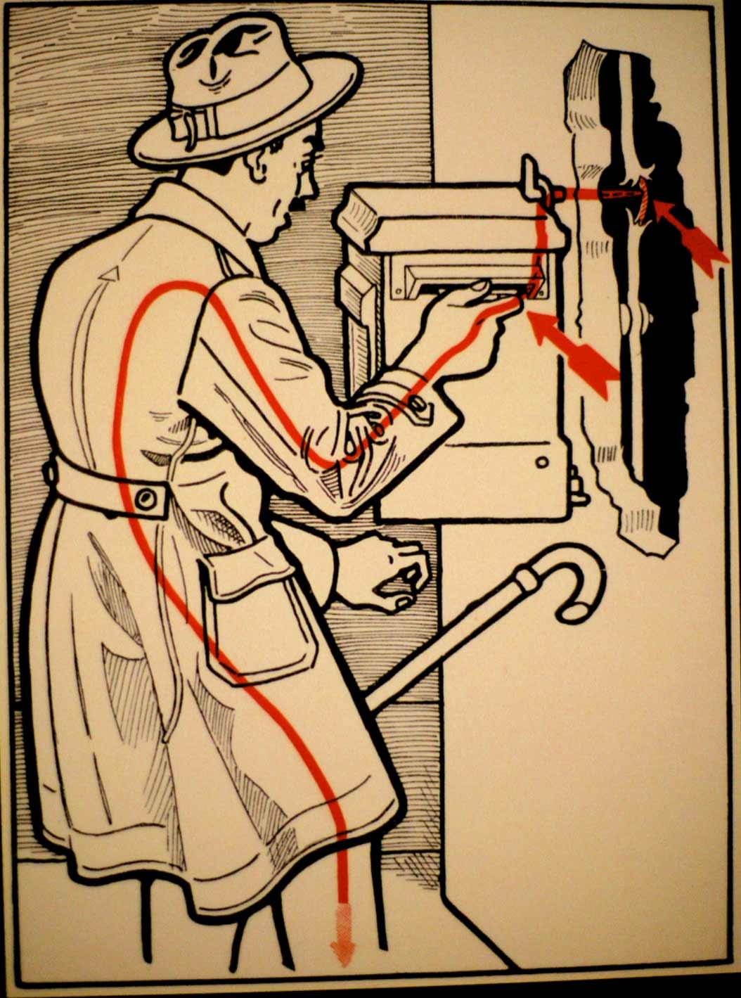 1931 wurde vor skurrilen Arten eines Stromschlages gewarnt Elektroschutz-in-132-Bildern_08