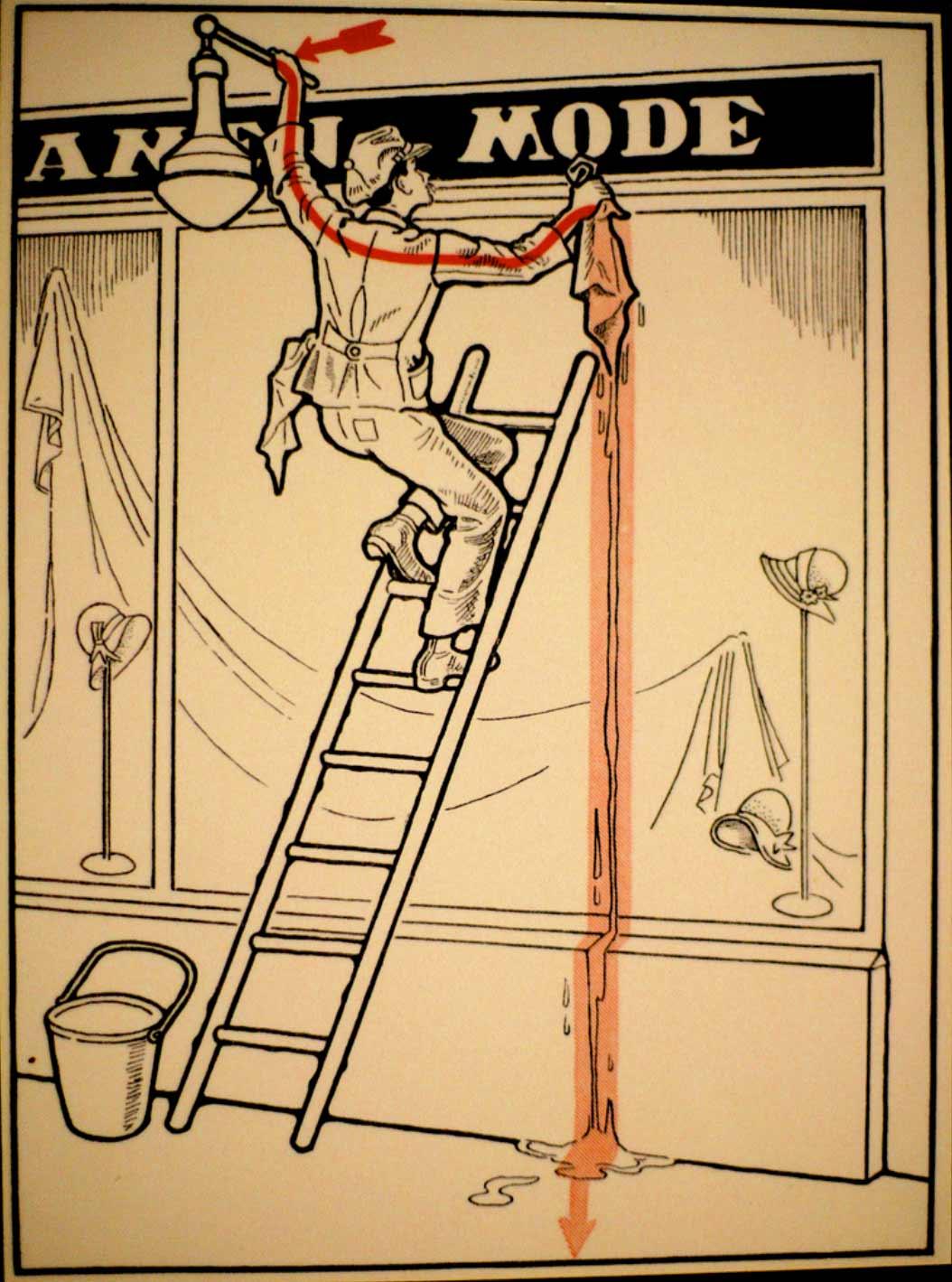1931 wurde vor skurrilen Arten eines Stromschlages gewarnt Elektroschutz-in-132-Bildern_09
