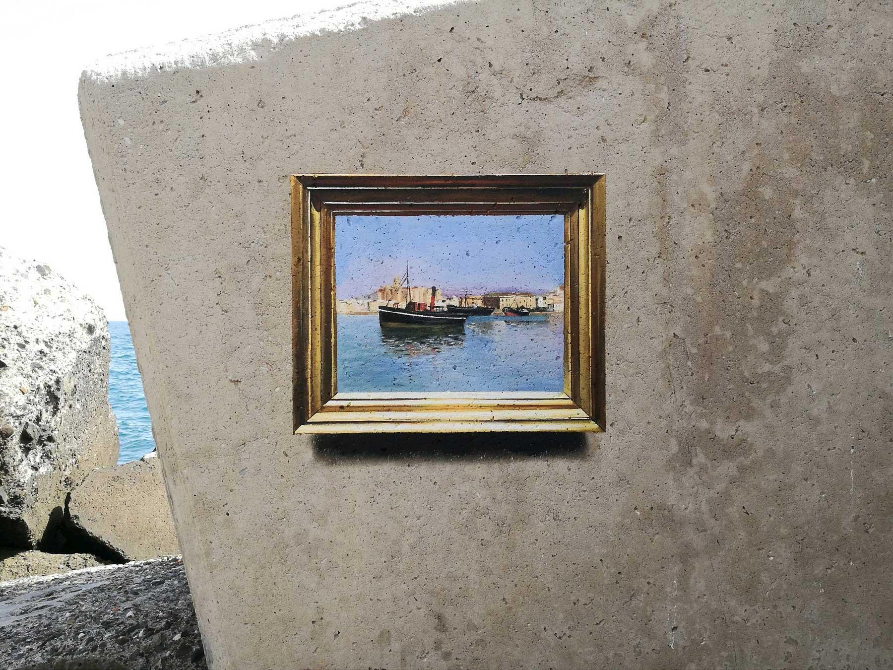Realistische Abbilder klassischer Gemälde an öffentliche Wände gemalt