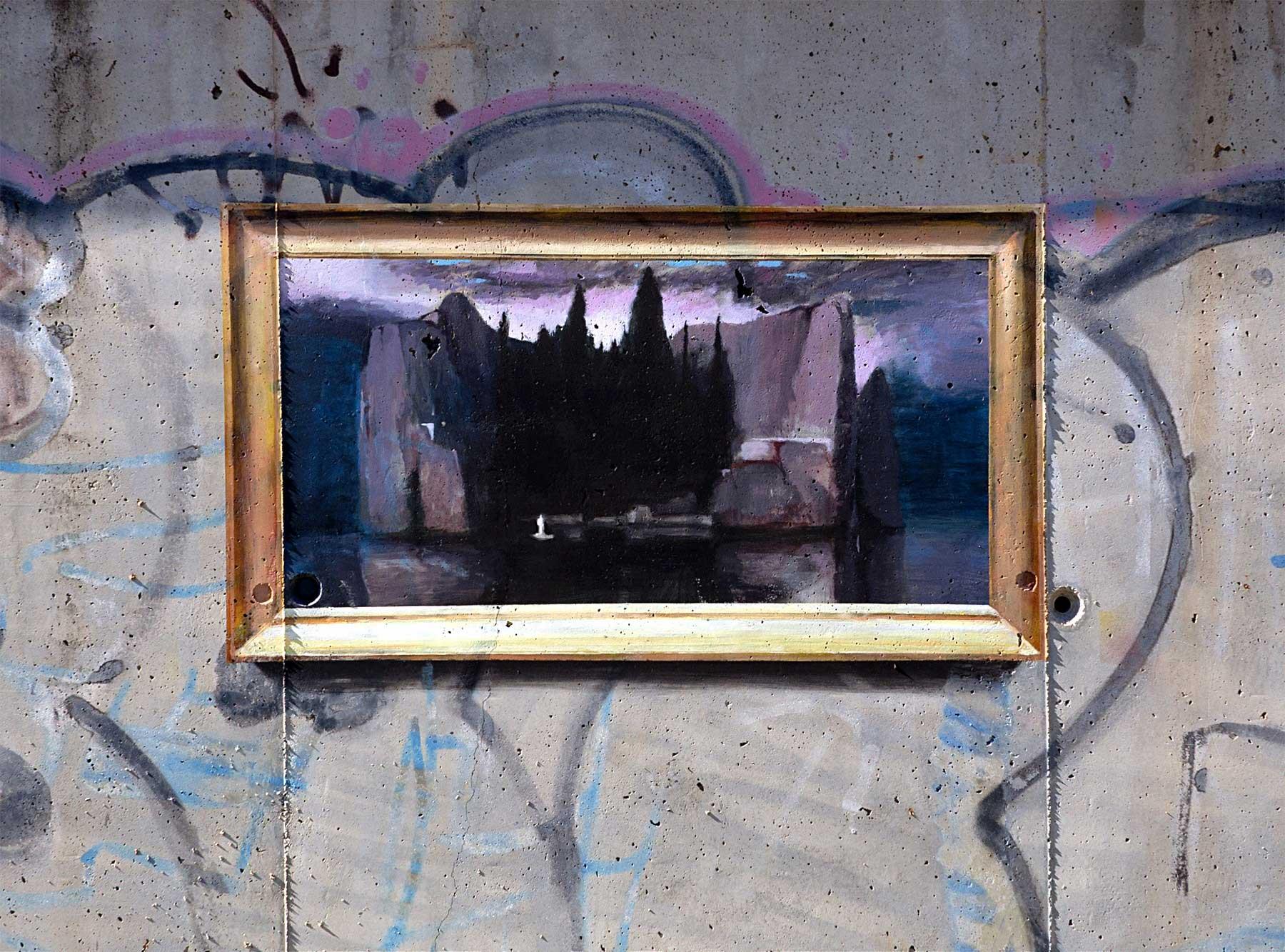 Realistische Abbilder klassischer Gemälde an öffentliche Wände gemalt Julio-Anaya-Cabanding_04