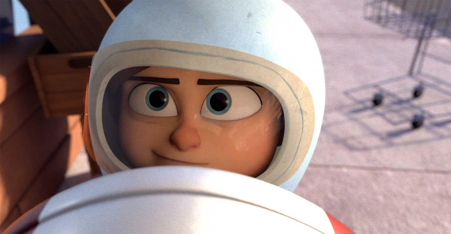 Wunderschön erzählter Astronauten-Traum eines Jungen coin-operated