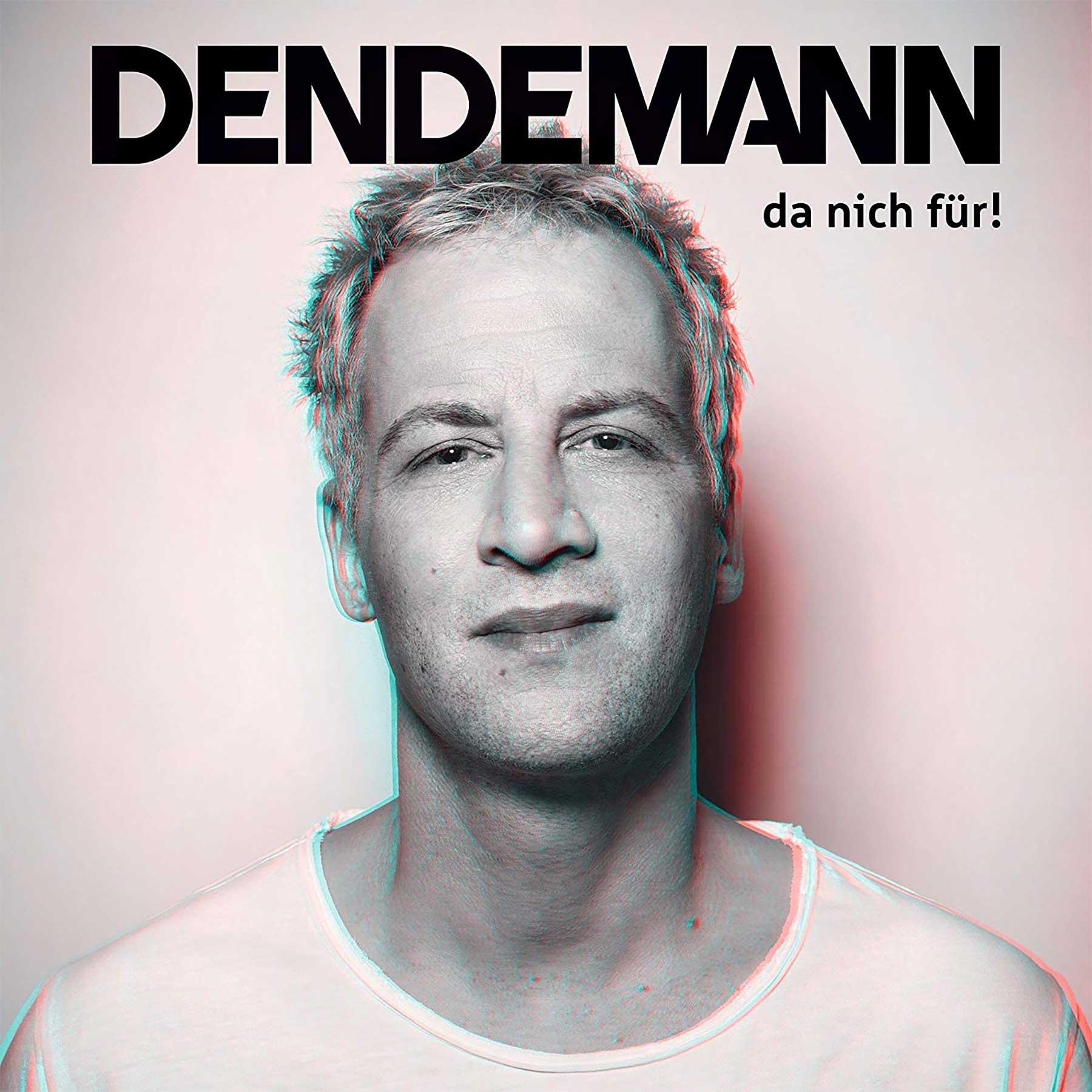 Dendemann - Keine Parolen / Wo ich wech bin dendemann-da-nich-fuer_albumcover