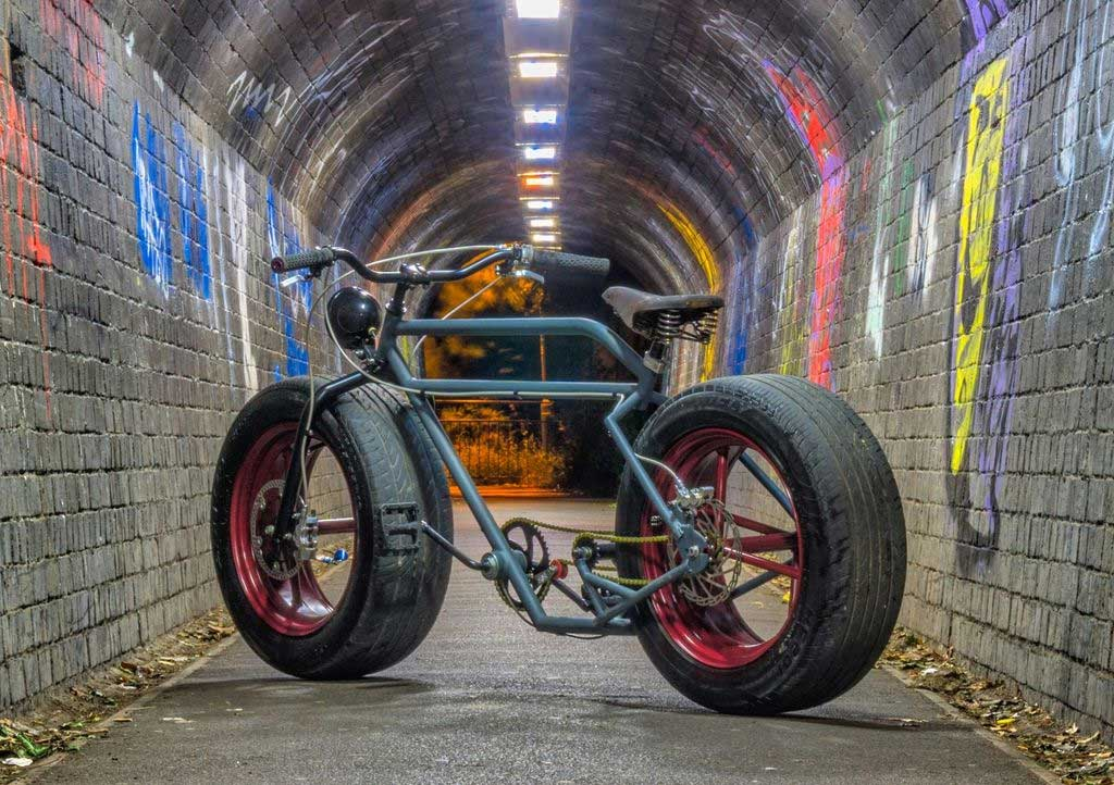 Ein Fahrrad mit Autoreifen fahrrad-mit-autoreifen_01