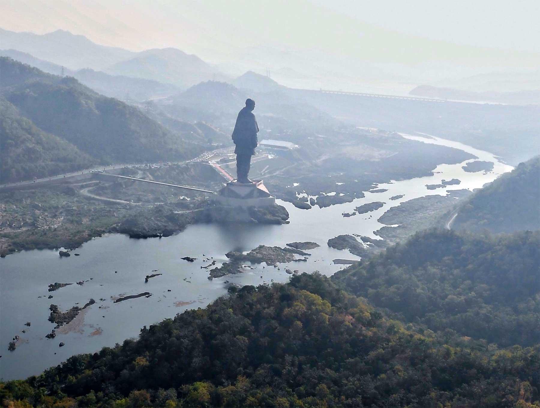 In Indien steht jetzt die größte Statue der Welt groesste-statue-der-welt-statue-of-unity_02