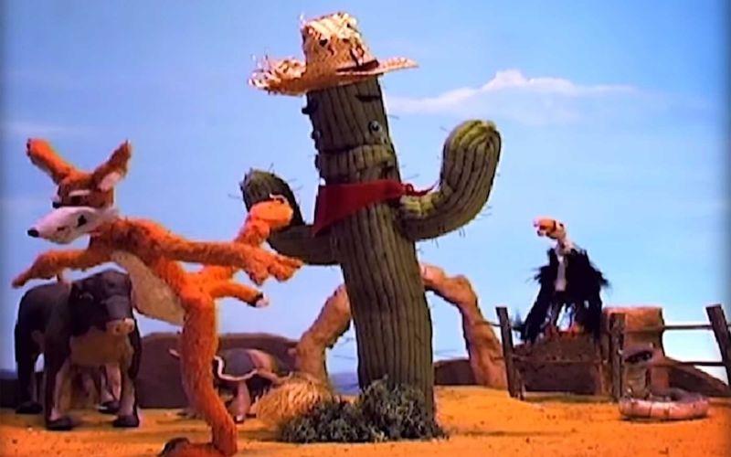 Der Kaktus, der ständig High Fives geben möchte