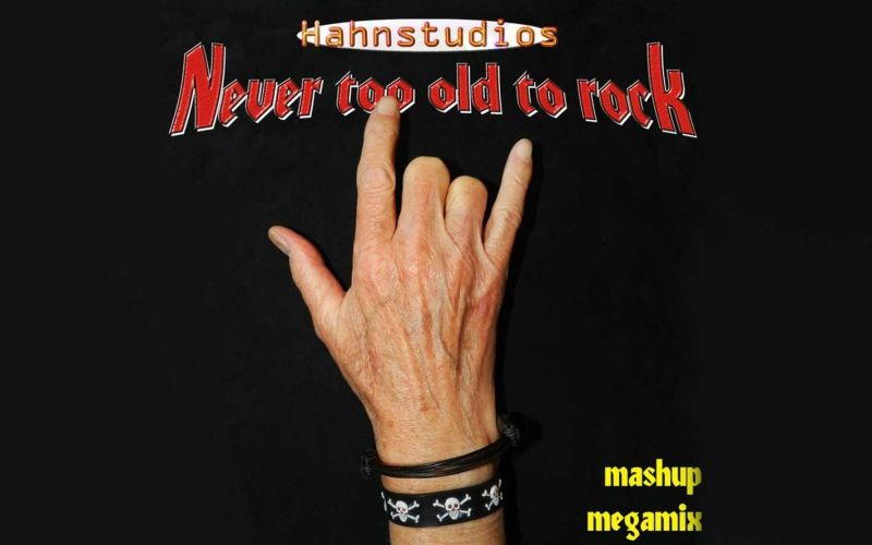 """Classic Rock Megamix """"Never Too Old To Rock"""""""