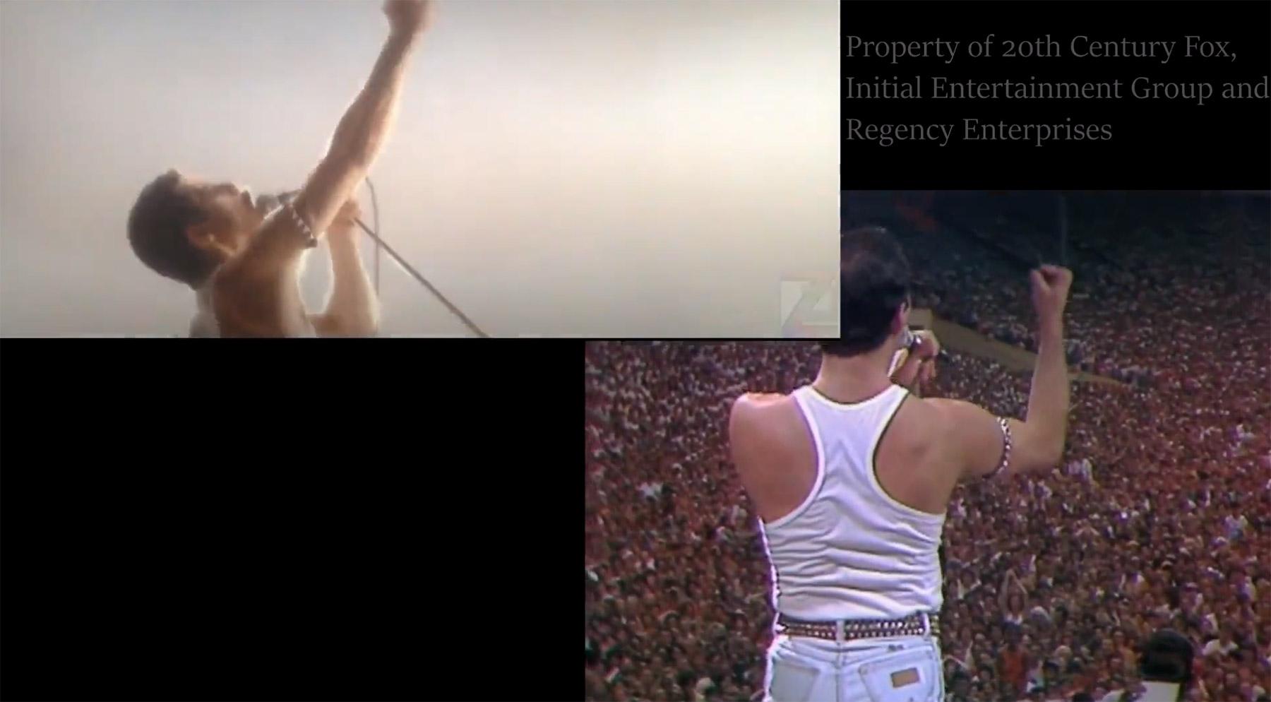 """Queens 1985er """"Live Aid""""-Gig: Film vs. Wahrheit queen-vergleich-film-vs-wirklichkeit"""