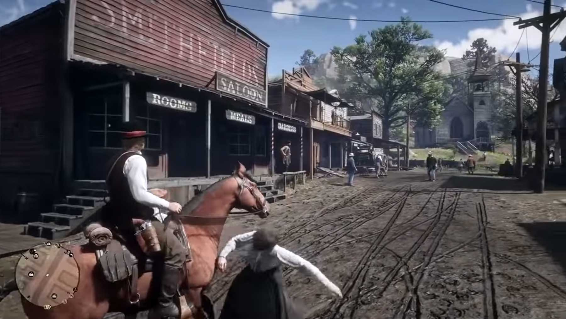 Read Dead Redemption 2 Reitunfall-Compilation